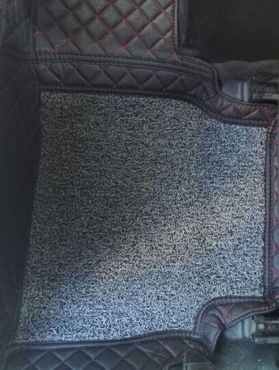 宝贝熊全包围丝圈汽车脚垫速腾卡罗拉迈腾朗逸福睿斯蒙迪欧帕萨特捷达科鲁兹宝骏730福克斯英朗 黑色 现代全新悦动朗动名图瑞纳ix2535领动途胜伊兰特 晒单图