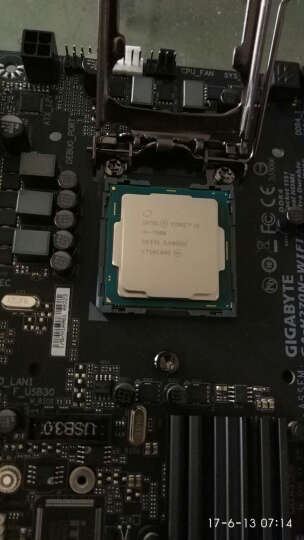 技嘉(GIGABYTE)H270N-WIFI 主板 (Intel H270/LGA 1151) 晒单图
