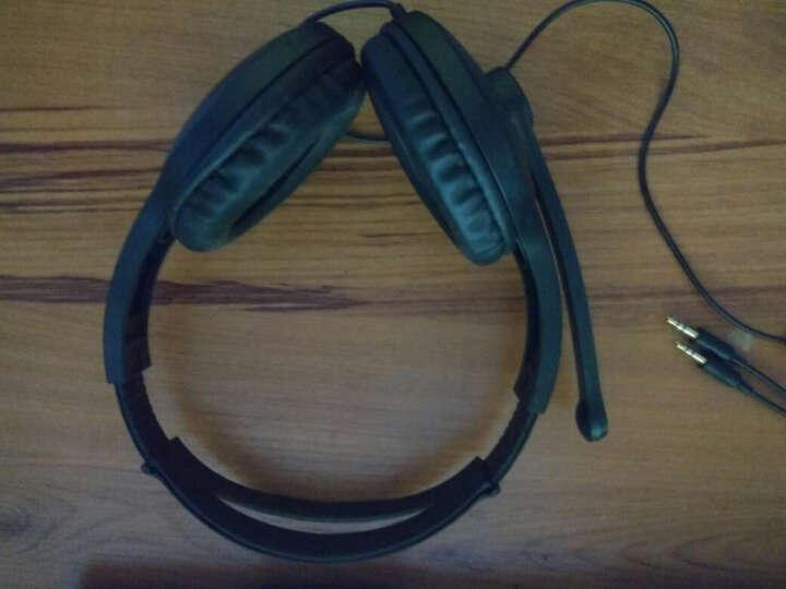 漫步者(EDIFIER)K800 高品质游戏耳机 电脑耳机 电脑耳麦 绝地求生耳机 吃鸡耳机 蓝色 晒单图