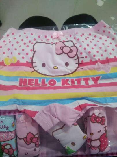 凯蒂猫(Hello Kitty)儿童内裤纯棉宝宝小女孩少女童6条装三角平角四角底裤短裤头 KTN112花色130/L 晒单图