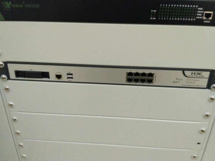 华三(H3C) F100-WiNet系列 下一代高性能企业级VPN防火墙 含电源 F100-C60-WiNet 带机量200左右 晒单图