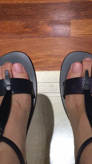 素人设计师原创 金属色真皮女凉鞋  16XWF008 紫色 39 晒单图