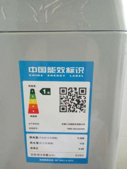 小天鹅(LittleSwan)8公斤变频全自动波轮洗衣机 京东微联智能APP手机控制 TB80-Mute60WD 晒单图