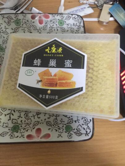 圣康源(Shen Kang Yuan) 巢蜜巢蜜农家自产蜜蜂窝蜜土蜂蜜老蜂巢500g盒装 晒单图