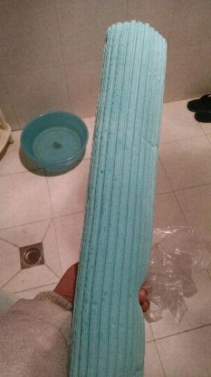 家欣胶棉拖把替换头胶棉头 滚轮海绵头 PVA 棉头 33cm  西德胶棉头 材质柔 晒单图