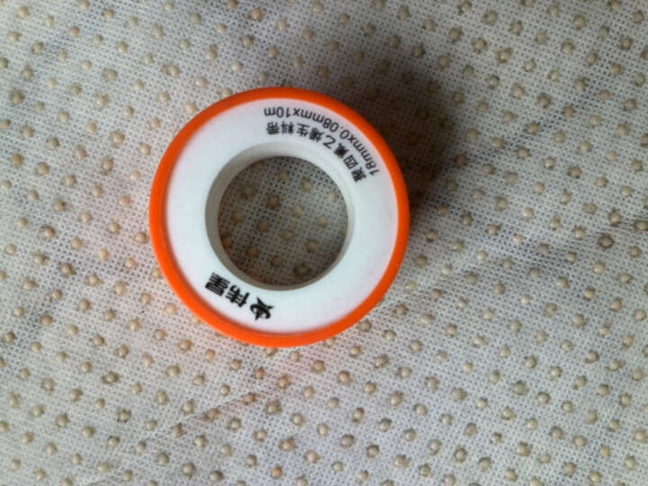 伟星 生料带 水管角阀卫浴软管高性能密封带 强耐候性防漏水封水纸 加厚加宽 型号1310-10米 晒单图