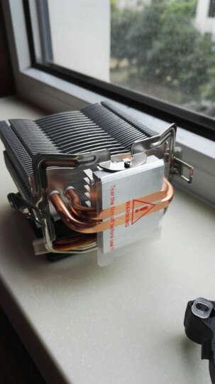 超频三(PCCOOLER)红海MINI CPU散热器(多平台/红海迷你/8cm风扇/附带硅脂) 晒单图