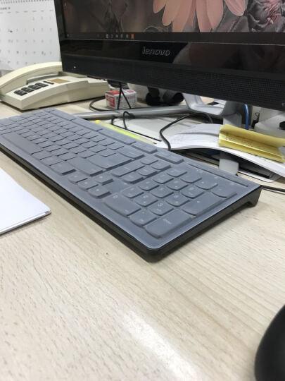 联想(LENOVO) 致美AIO 520一体机台式电脑键盘保护膜(新款) 新款一体机半透明玫色键盘膜 510 晒单图