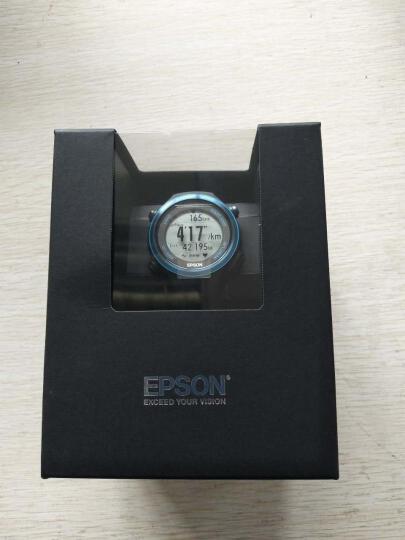 爱普生(EPSON)RUNSENSE SF-850 GPS运动腕表 公路蓝 晒单图