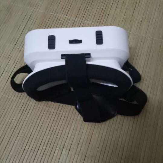 千幻魔镜SHINECON智能眼镜vr眼镜智能3d虚拟现实头盔手机游戏视频 小白款+普通耳机+LED手环 晒单图