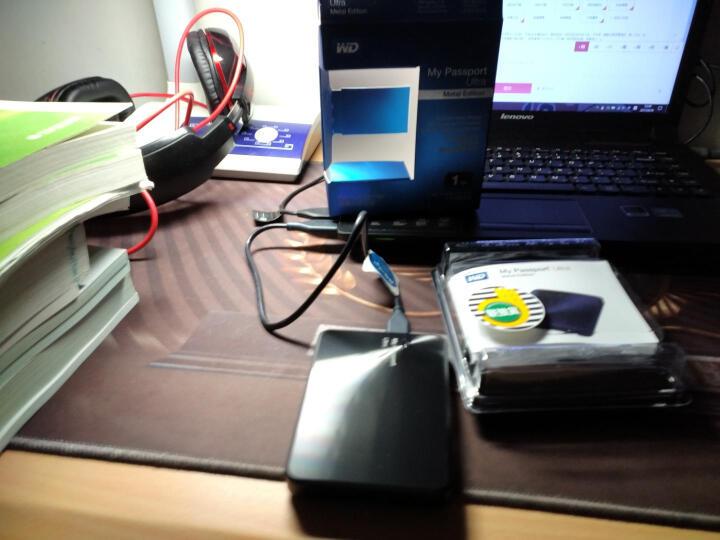 西部数据(WD)My Passport Ultra 金属版USB3.0 1TB 超便携移动硬盘 (曜石黑)WDBTYH0010BBK-CESN 晒单图