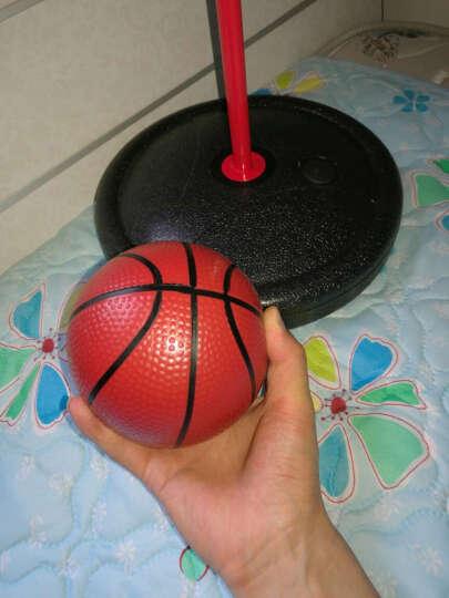 儿童篮球架可升降室内户外大号铁杆铁框篮球架投篮玩具高度可调节宝宝运动健身男孩蓝球玩具 D款加强版200CM可升降篮球架 2篮球+1打气筒 晒单图