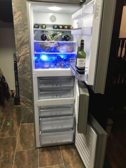 英国倍科(BEKO)GNE34230GW285升风冷无霜原装进口三开门冰箱 LED触摸显示 CNE34230GS 银色 晒单图