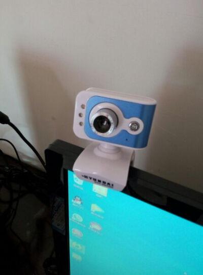 现代(HYUNDAI) 摄像头电脑台式机免驱网络高清内置麦克风 HYC-HD5000 蓝白 晒单图