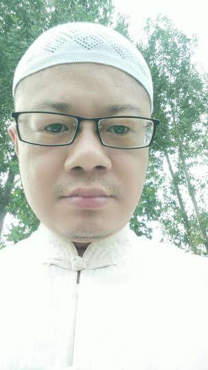 清真礼拜帽穆斯林手工针织帽回族男士棉线帽夏季西北浅瓜皮帽 黑色((夏款) 可调节 晒单图