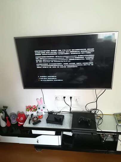 索尼(SONY)【PS4 Pro国行主机】PlayStation4Pro 电脑娱乐 PS4游戏机 Pro黑+战v地风云5 晒单图