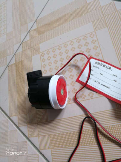 刻锐(KERUI) 警号报警器喇叭120分贝有线喇叭报警主机外接高音扩音器蜂鸣器配件 晒单图