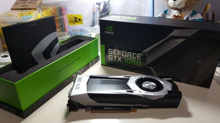 英伟达 NVIDIA GEFORCE GTX1060 Founders 6GB 显卡 公版 GTX1060 6G显存 官网公版 晒单图