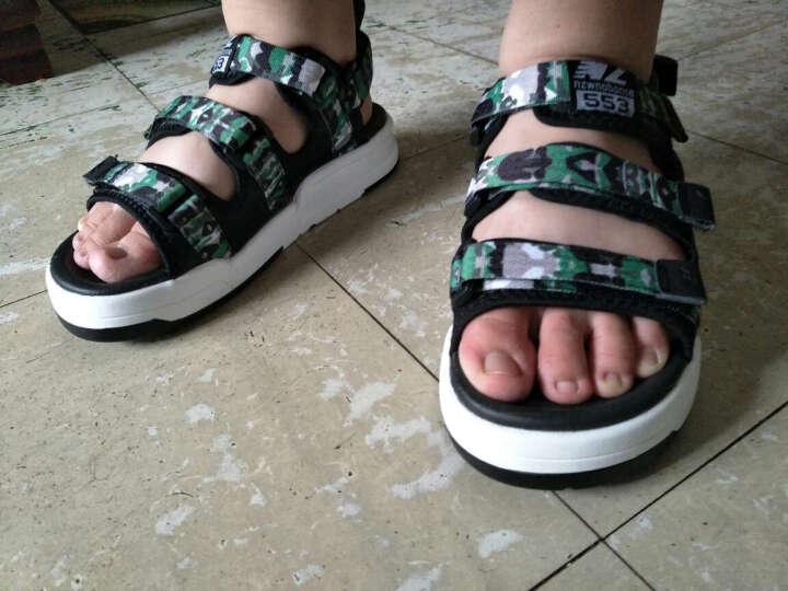 凉拖鞋夏季罗马凉鞋男士休闲运动个性学生青年防滑沙滩鞋户外越南凉鞋潮 迷彩绿 40 晒单图