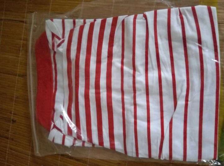 鸿星尔克ERKE 女微领轻质透气短袖T恤 12214202173 大红 S 晒单图