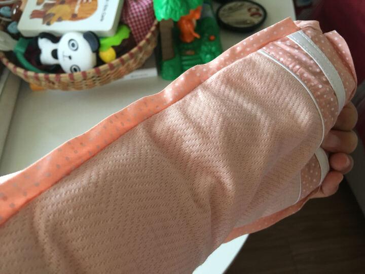 贝谷贝谷 婴儿枕头哺乳枕喂奶袖套新生儿手臂凉席夏 【花边款】橙色 30*1.75 晒单图