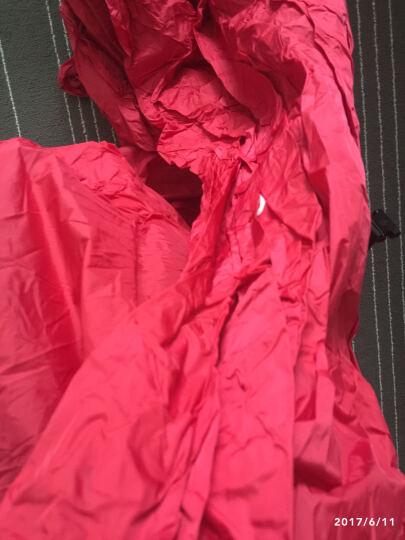 夏诺多吉 户外快速充气口袋沙发便携式空气床可折叠单人床垫懒人午休床垫 第三代升级方型红色 晒单图