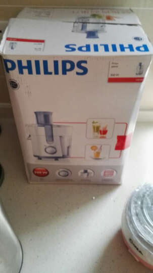 飞利浦(PHILIPS)榨汁机 Daily系列家用电动可做果汁 HR1811/70 晒单图