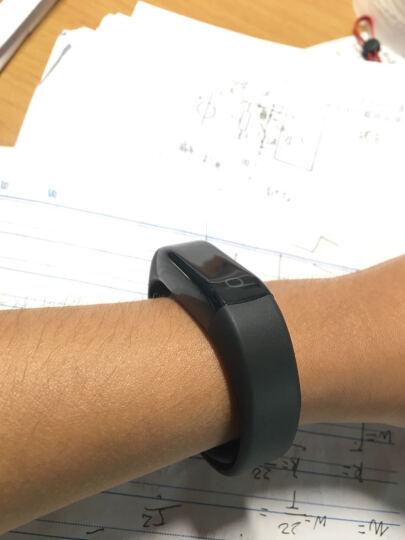 乐心 MAMBO2 连续心率监测 心率手环 运动手环 游泳防水 男女手环 触摸OLED屏 信息来电显示 智能手环 黑色 晒单图