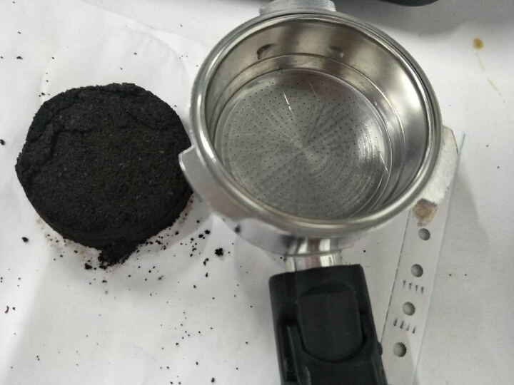 华迅仕(Fxunshi)意式咖啡机 全自动家用咖啡壶小型商用奶泡机送电动磨豆机 升级款 晒单图