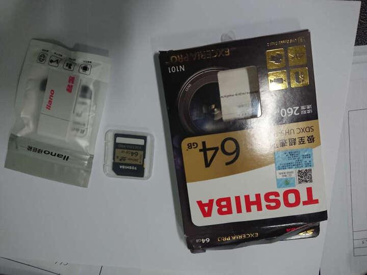东芝(TOSHIBA) EXCERIA Pro SDHC存储卡 64G 极至超速 U3/Class10 读260M写240M 晒单图
