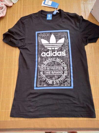 阿迪达斯adidas 官方 三叶草 男 短袖上衣 黑 BP8986 如图 M 晒单图