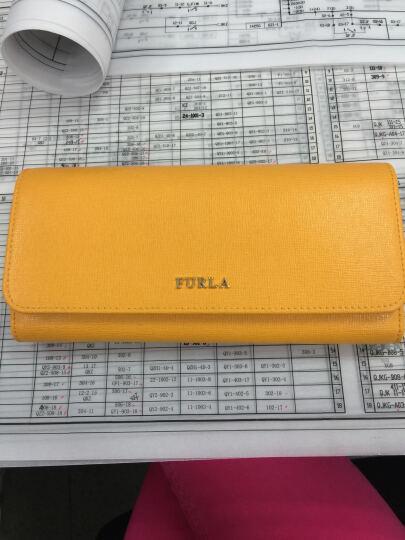 FURLA 芙拉 女士BABYLON系列黄色牛皮长款钱包 816958 P PN84 B30 BABYLON 晒单图