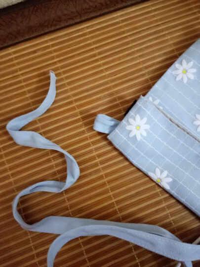 雨凡校园韩版书包女初高中学生校园帆布简约双肩包可爱休闲背包小清新 淡蓝白云套餐 晒单图