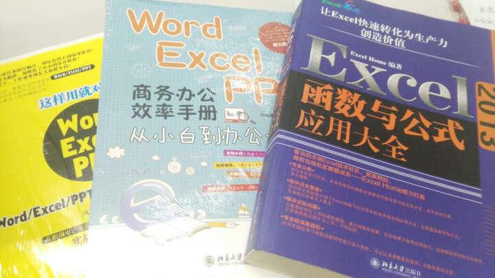 Word/Excel/PPT 商务办公效率手册:从小白到办公大神 晒单图