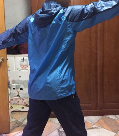 探路者(TOREAD)户外春夏情侣款皮肤衣轻薄透气防泼水TAEF82800【江一燕同款】 白色\水蓝绿-女 M 晒单图