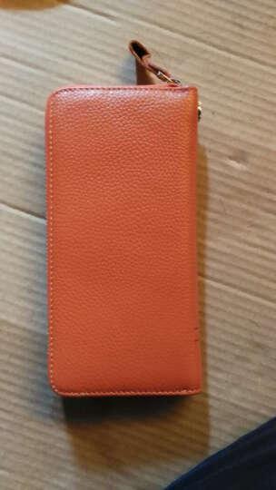 啄木鸟(TUCANO)女式包包 女士钱包长款牛皮 粉色手拿包手抓包大容量 韩版女包 1001粉色 晒单图