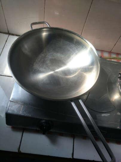 法格FAGOR 不锈钢汤锅炒锅套装 618爆款 进口304不锈钢 卡门厨师30cm中式炒锅套装 晒单图