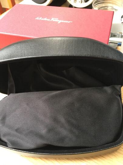 FERRAGAMO 菲拉格慕 女款红色镜框红色镜腿咖色渐变镜片眼镜太阳镜 SF869SA 613 56MM 晒单图