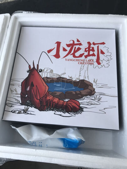 初辰 小龙虾熟食净虾1kg 麻辣6-8钱2kg24-34只 晒单图