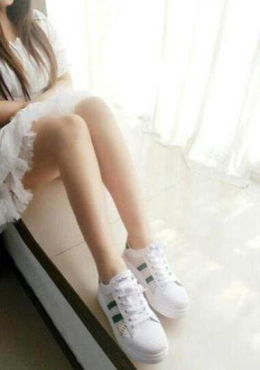 【大牌疯抢 限时秒杀】单\棉可选 MOYE品牌自营 潮牌定制 大牌正品 休闲小白鞋 8801白红 38 晒单图