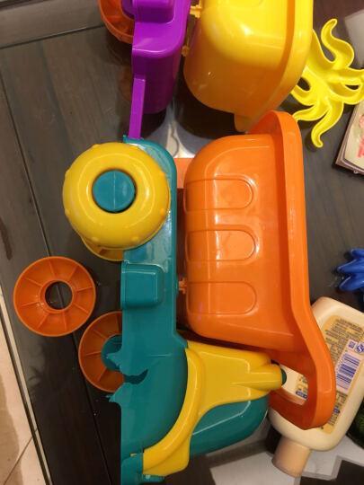 活石 儿童沙滩玩具车套装桶决明子大号宝宝玩沙挖沙漏铲子戏水工具 亲子沙漏推车款12件套 晒单图
