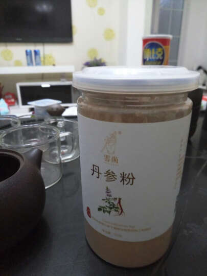 云尚  丹参粉 细粉150g/瓶 紫丹参片打粉 晒单图