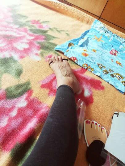芬丽 3双装女士脚掌垫隐形袜高跟鞋袜拖鞋护脚垫半码垫 蕾丝款黑色3 晒单图