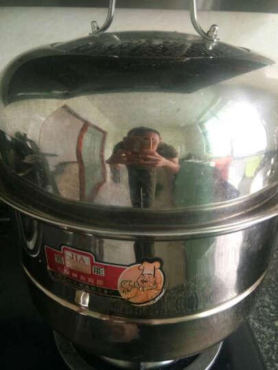 嘉能26-38cm不锈钢蒸锅二层三层四层复底蒸笼煤气电磁炉通用 32cm(四层) 晒单图