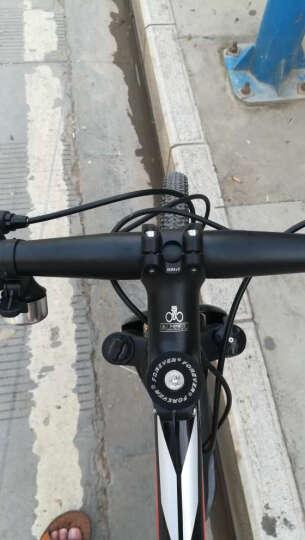 永久(FOREVER) 27速/30速自行车山地车 27.5寸铝合金/公路车成人单车A9乐途 高配 27速高配 黑红色 27.5寸 晒单图