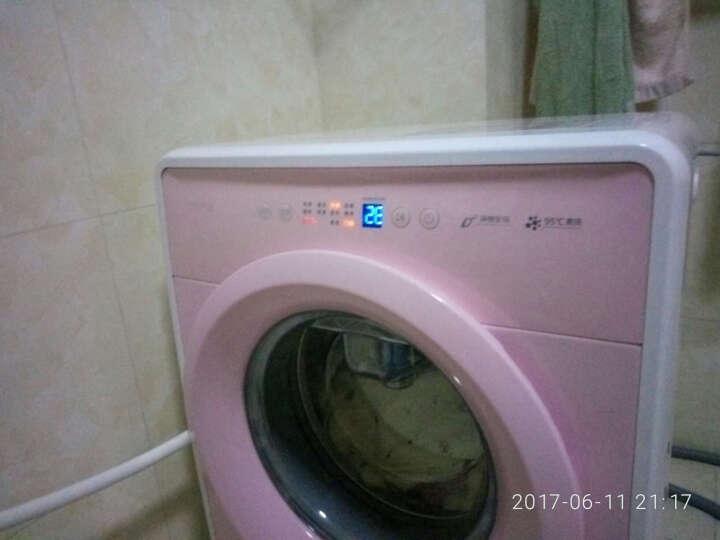 【升级大视窗】小吉(MINIJ) Max迷你mini儿童宝宝婴儿内衣洗衣机 全自动变频滚筒 甜心粉 晒单图