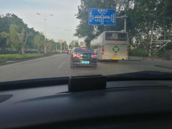 途行者 hud抬头显示器 obd汽车车载 投影仪 车速显示仪 汽车通用行车电脑 手机导航 普通款全白色(带开关) 圆线 晒单图