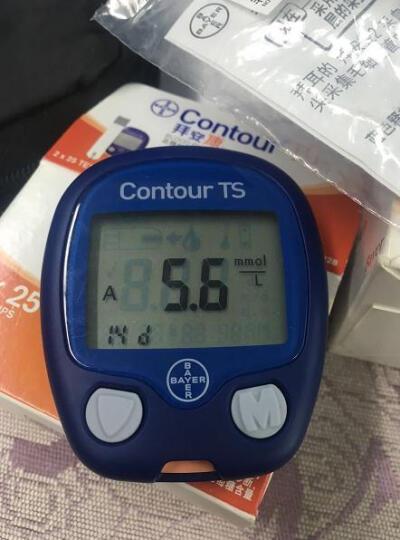 拜安康 拜耳血糖仪家用专用测血糖检测试纸采血笔 50片试纸(远效期18年6月) 晒单图
