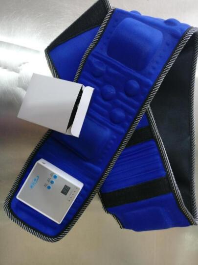 施罗德 甩脂机腰带 抖抖机减重束腰健身器材收腹无线充电震动塑身运动 无线豪华甄选款/红色 晒单图