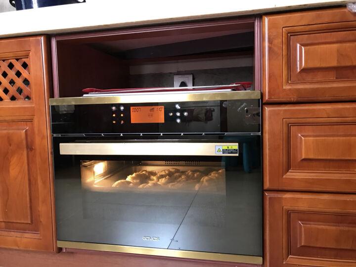 GOVOS德国嵌入式蒸烤箱一体机 大容量电蒸箱烤箱三合一 内嵌式家用多功能蒸箱S01A  晒单图